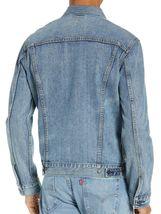 Levi's Men's Cotton Button Up Denim Jeans Trucker Jacket Light Blue 723340232 image 5