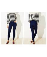 Ann Taylor LOFT Indigo Slim Pockets Cozy Denim Leggings  - Size 6 - $64.95