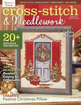 Cross Stitch and Needlework Winter 2015 christm... - $8.00