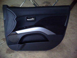 2010 MITSUBISHI OUTLANDER RIGHT FRONT DOOR TRIM PANEL