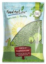 Food to Live Green Peas Whole (Green Vatana) (2... - $35.98
