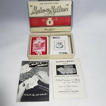 Make a Million Card Game 1934 1945 The Exciting Game by Parker Brothers EUC - $29.95