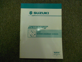 1993 Suzuki Swift Electrical Wiring Diagram Shop Manual FACTORY OEM BOOK 93 - $26.13