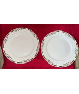Royal Stafford China England PINK ROSES w/ SWAGS Dinner Plate RST231 Rib... - $39.99