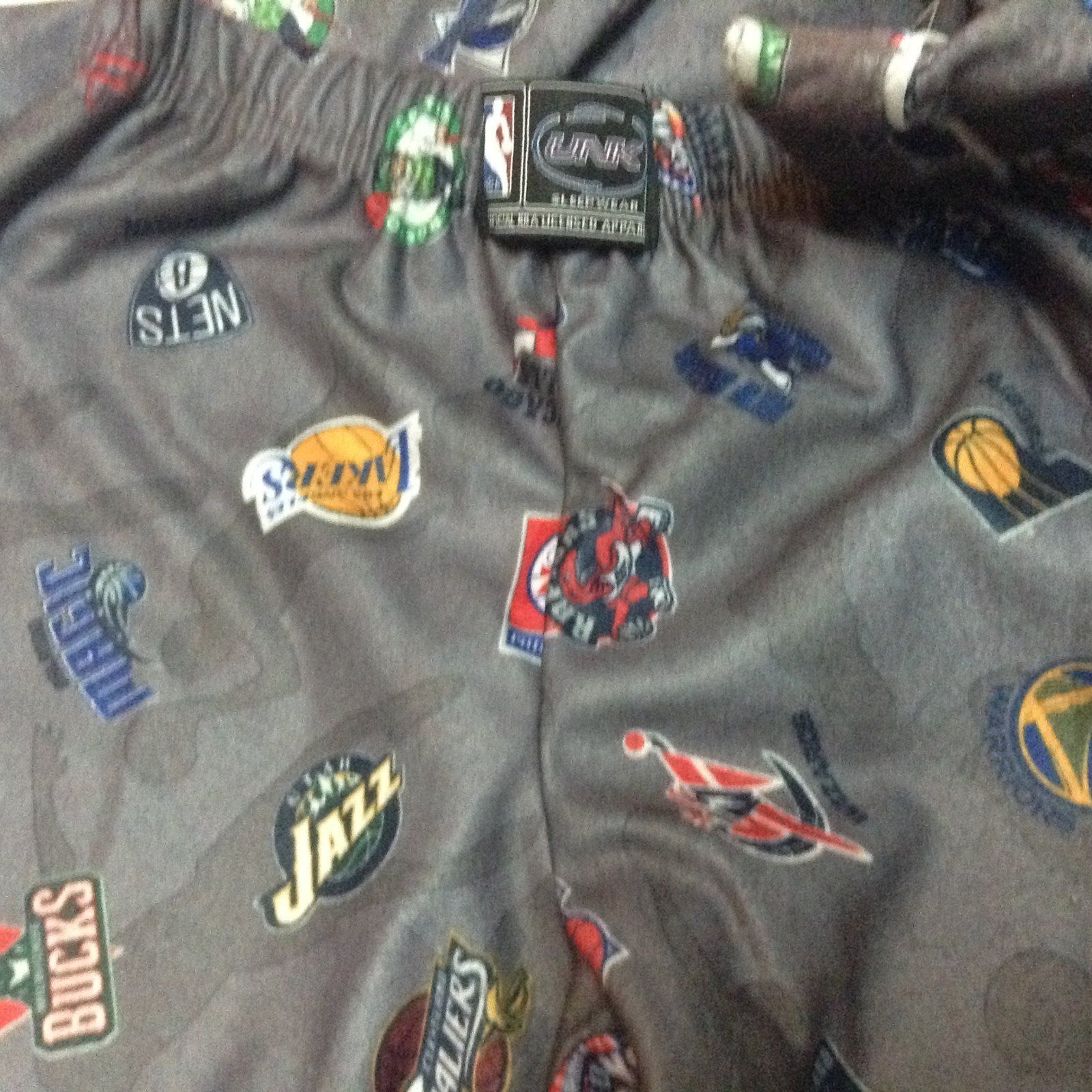 Official Licensed NBA Youth Pajamas Sleepwear NWT Sz Small