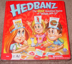 Hedbanz Quick Question Game Of What Am I 2010 Spin Master New Factory Sealed Box - $20.00