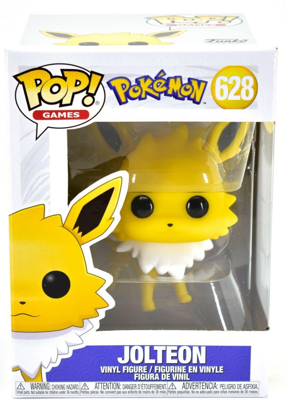Funko Pop! Games Pokemon Jolteon #628 Vinyl Action Figure