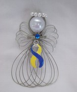 Down Syndrome Awareness Angel Ornament Handmade - $8.00