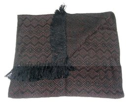 Alpakaandmore Unisex Wooven Scarf 100% Alpaca Wool 63x23.60 (Light Brown) - ₨4,873.94 INR