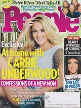 People October 26, 2015 At Home With Carrie Underwood! [Single Issue Mag... - $2.23