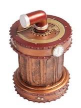 7 Inch Steampunk Themed Pressure Valve Jewelry/Trinket Box Figurine - £20.24 GBP