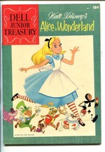 DELL JUNIOR TREASURY #1-1955-DISNEY-ALICE IN WONDERLAND-SOUTHERN STATES-vf+ - $113.49