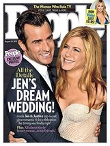 People Magazine Jennifer Aniston Wedding August 24, 2015 [Single Issue M... - $2.96