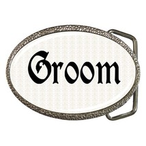 Groom Belt Buckle - $19.95
