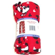 Disney Mickey Mouse Ladies Lounge Pants Sleepwear PJ's Red S M L XL XXL New - $34.95