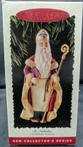 Hallmark Keepsake Ornament ST. NICHOLAS 1995 1st in Christmas Visitors S... - $8.90