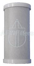 "4.5"" x 10"" carbon block filter replacement cartridge 5 micron high flow - $45.99"
