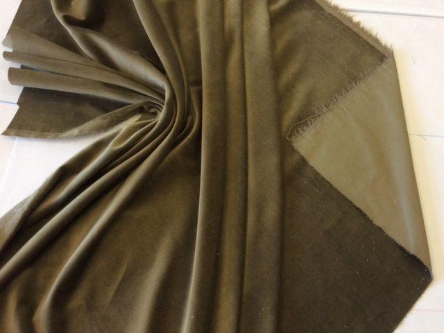 100/% Cotton Schwarz samt Stoff 112cm Breit samt Velour