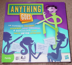 ANYTHING GOES GAME 2010 PARKER BROTHERS HASBRO COMPLETE EXCELLENT PLAYED... - $15.00
