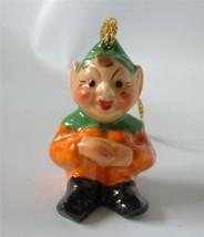 Vintage MZ Irish Dresden Elf Knee Hugger Leprec... - $19.78