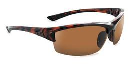 ONE -Mauzer - Polarized Half-Frame Sports Wrap Adventure Sunglasses - $44.23
