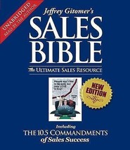 The Sales Bible The Ultimate Sales Resource (Jeffrey Gitomer) 7 CD Set B... - $39.48