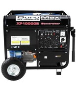 Generator Gas Emergency DuroMax Portable Power Electric Start Wheels Ho... - $1,156.74