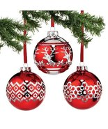 Peppermint Forest Red Plated Ball Ornament - $98.99