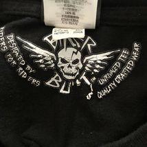 Harley Davidson T Shirt Skeleton Clown Size XL Sturgis MI Black Motorcycle image 9