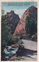 Pillars of Hercules So. Cheyenne Canon Colorado Springs CO 1931 Postcard... - $13.49