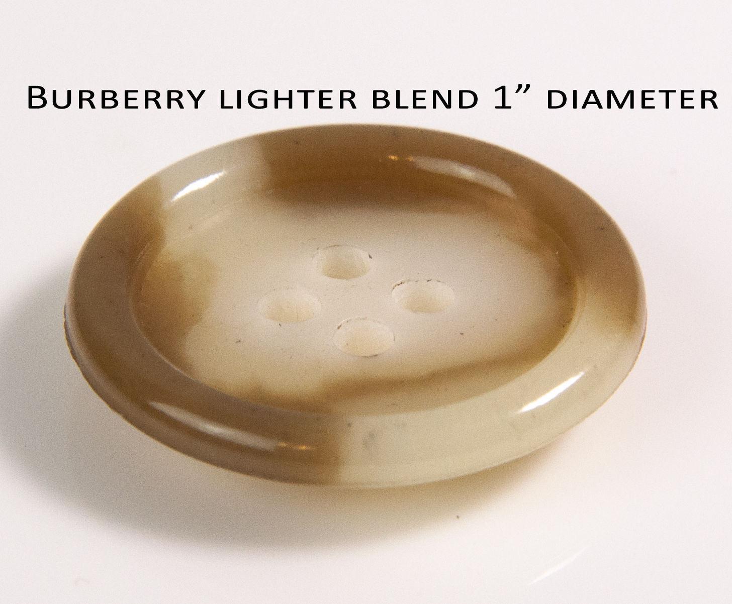 Original BURBERRY London Trench coat BUTTON (LIGHTER) Front only Replacement