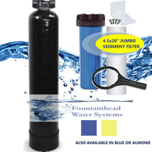 Whole House Fluoride/Arsenic/Heavy Metal 1.5 Filter In/Out Valve Sediment Filter - $513.97