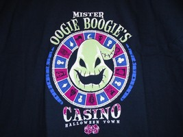 "TeeFury Nightmare XXXLARGE ""Oogie Boogie's Casino"" Parody Shirt NAVY - $16.00"