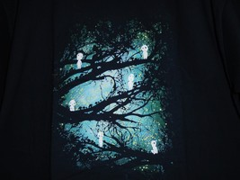 "TeeFury Ghibli  XLARGE ""Tree Spirits"" Studio Ghibli Tribute Parody Shirt... - $14.00"