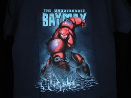 "TeeFury Disney YOUTH LARGE ""Unbreakable Hero"" Big Hero Six Parody Shirt ... - $11.00"