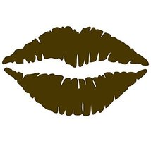 Kiss Wall Decal Sticker - Kissing Lips Decoration Mural - Decal Stickers... - $34.00