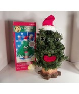 "Douglas Fir Talking Tree Gemmy Christmas Animated and Musical 18"" Tall 1997 - $59.35"