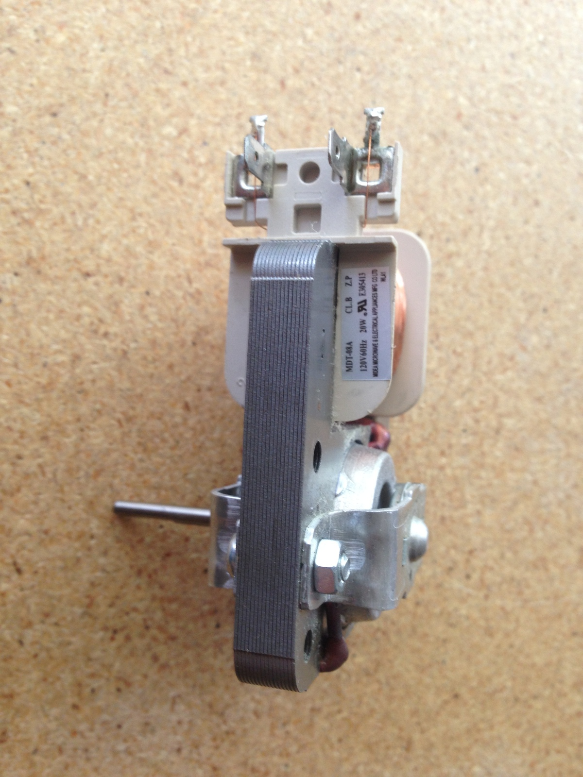 Primary image for Frigidaire Microwave Oven OEM MDT-08A Fan Motor