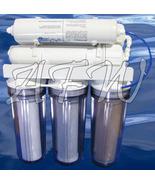Dual Pass Reef Master 200 Reverse Osmosis RO DI Filter - $274.02