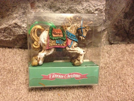 Vintage Victorian Rocking Horse Christmas Ornament - $10.00
