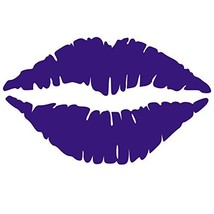 Kiss Wall Decal Sticker - Kissing Lips Decoration Mural - Decal Stickers... - ₹2,087.30 INR