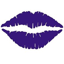 Kiss Wall Decal Sticker - Kissing Lips Decoration Mural - Decal Stickers... - $6.00