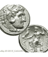 ALEXANDER the Great LIFETIME Tetradrachm RARE Salamis mint Silver Coin H... - $791.10