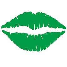 Kiss Wall Decal Sticker - Kissing Lips Decoration Mural - Decal Stickers... - ₹719.76 INR