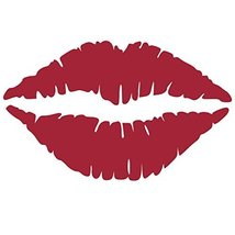 Kiss Wall Decal Sticker - Kissing Lips Decoration Mural - Decal Stickers... - ₹1,727.42 INR