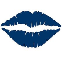 Kiss Wall Decal Sticker - Kissing Lips Decoration Mural - Decal Stickers... - $29.00