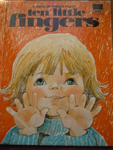 Ten Little Fingers A Book of Finger Plays Wonder Books - $4.99