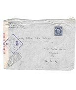 Australia Censored Cover to US Sc 195 not canceled WWII Censor 1380 - $4.99