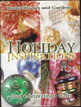 Holiday Inspirations   First Edition   Bhg - $11.00