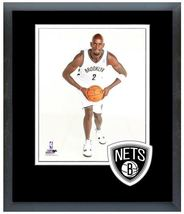 "Kevin Garnett 2013 Brooklyn Nets - 11"" x 14"" Matted and Framed Photo  - $42.95"